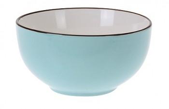 Miska keramika 13x7cm modrá