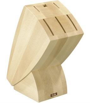 Blok dřevěný pro 5 nožů