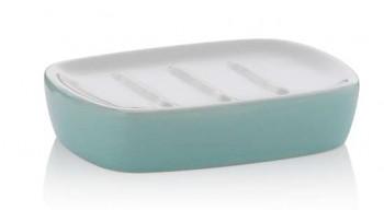 Miska na mýdlo LINDANO keramika mentolová