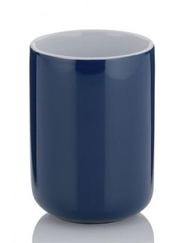 Pohár ISABELLA keramika tm.modrá