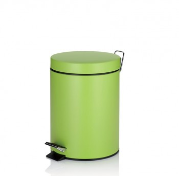 Kosmetický koš KIRA kov zelená 5 L