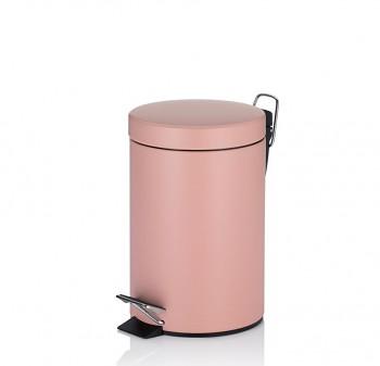 Kosmetický koš ROSE kov 3 L