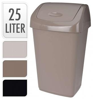 Koš odpadkový 25 l, 3 barvy