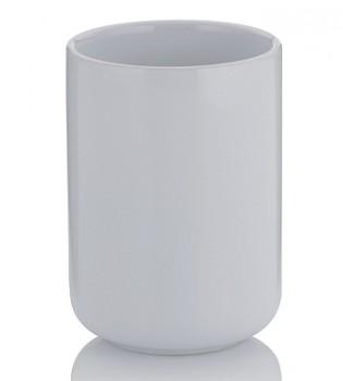 Pohár ISABELLA keramika bílá