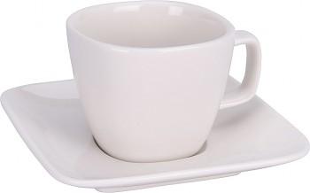 Hrnek na espresso s podšálkem porcelán 60 ml