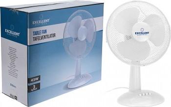 Ventilátor stolní 31 cm bílý