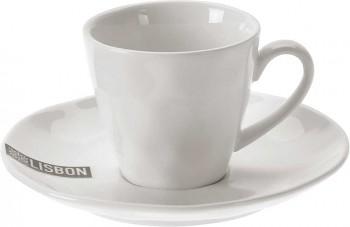 Hrnek na espresso s podšálkem porcelán 100 ml