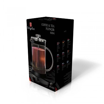 Konvička na čaj a kávu french press 600 ml
